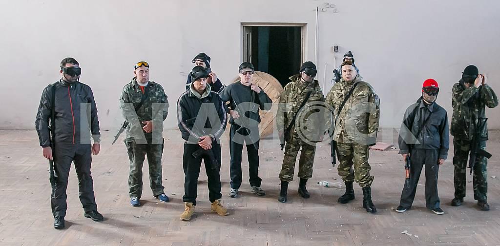 the armed men