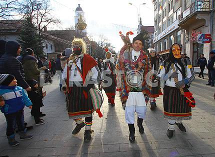 Парад маланок в Сучаве