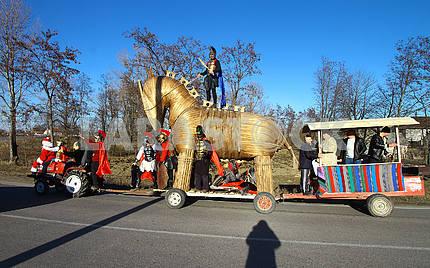 Троянский конь с ряжеными
