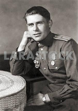 Советский офицер. Портрет
