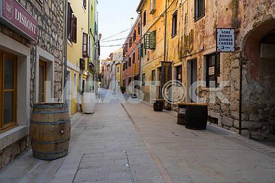 Улица в Скрадине