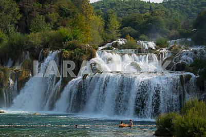 Водопад на реке Крка