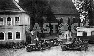 Немецкая патрульная бригада. Вторая мировая война