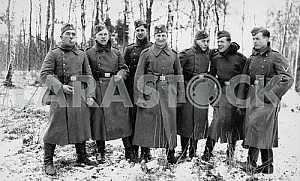 Немецкая пехота эскадрильи. Вторая мировая война