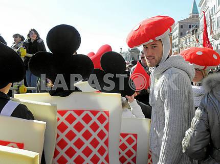 Карнавал в Венеции, Италия, Европа, 5