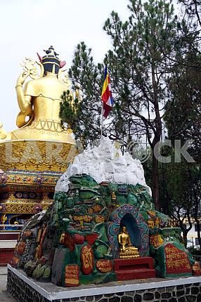 Статуя Будды, Непал, Катманду
