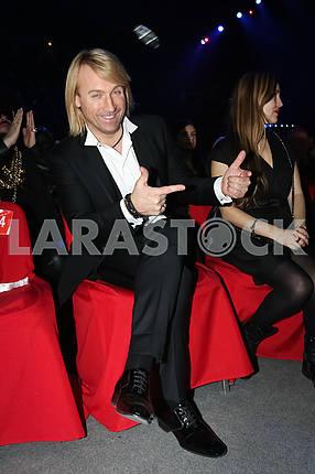 Олег Винник на церемонии награждения M1 Awards 2016