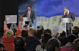 Пресс-конференция Петра Порошенко.