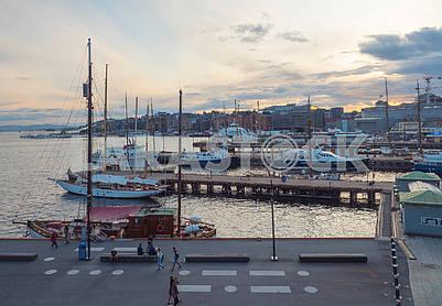 Пристань в Осло
