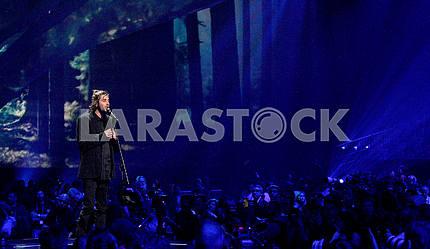 Световые декорации на сцене Евровидения 2017