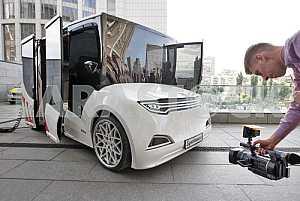 Презентация прототипа первого украинского электромобиля