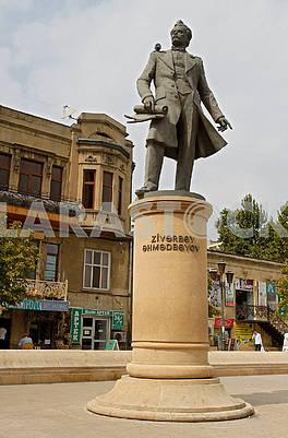 Памятник  Зивербеку Ахмедбекову