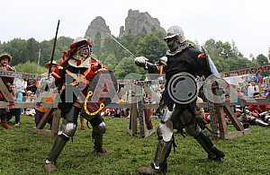 Рыцарский турнир на фестивале