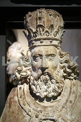 Св. Ладислав, король Венгрии и Хорватии, 11 век.