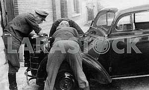Ремонт автомобиля Opel Cadett К-38. Вторая мировая война