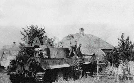 Немецкий тяжелый танк Тигр