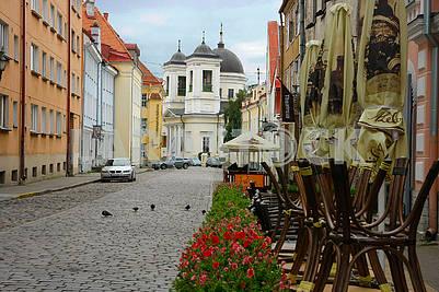 Улица в старом Таллинне