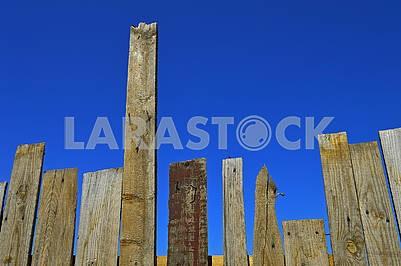 Старий паркан з дощок