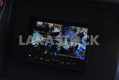 Монитор с изображения с камер видеонаблюдения