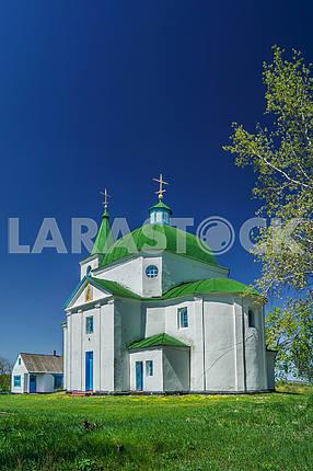 Свято-Михайловский храм, село. Шандра. Украина