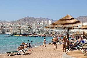 Городской пляж Эйлата