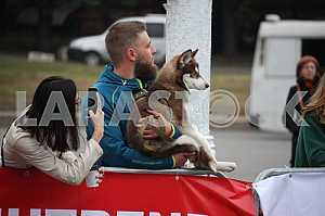 Зрители на «Днипро эко марафоне»