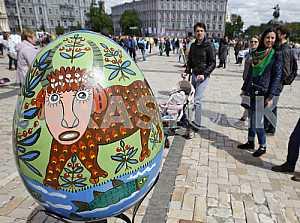 Фестиваль писанок в Киеве