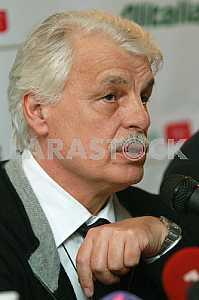 Итальянский актер Микеле Плачидо в Киеве 5 ноября 2010 года