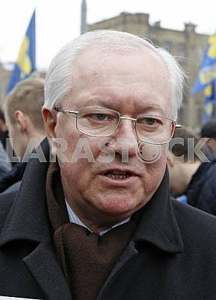 Акция Батькивщины в поддержку Надежды Савченко в Киеве