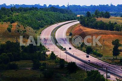 Дорога в Днепропетровской области