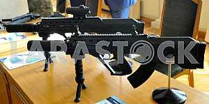 Выставка вооружений в Верховной Раде