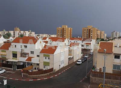 Дождевое небо в Эйлате