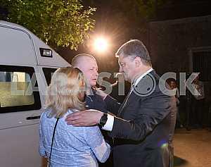 Петр Порошенко и Владимир Жемчугов