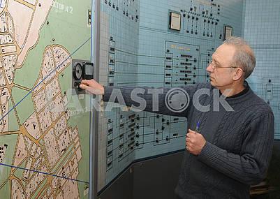 Диспетчер на Деснянской водопроводной станции