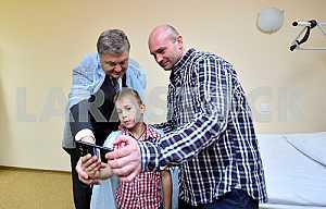 Петр Порошенко, Владимир Жемчугов и Юрий Супрун