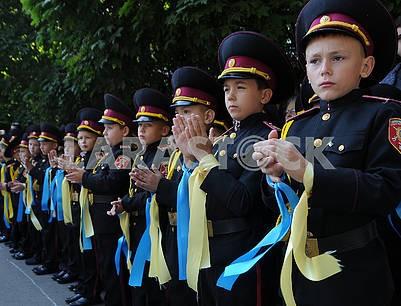 """День знаний в лицее-интернате №23 """"Кадетский корпус"""""""