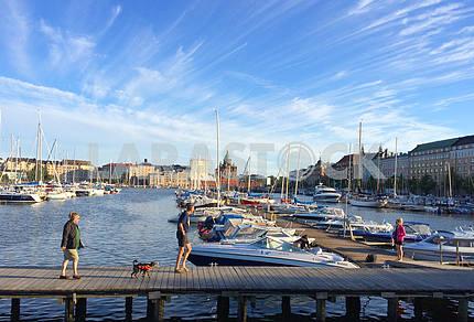 Яхт-клуб в Хельсинки