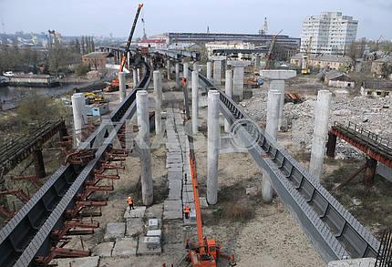 Опоры Подольско-Воскресенского моста