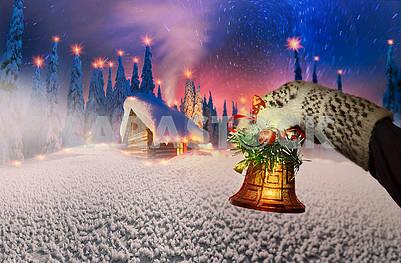 Праздничная рождественская композиция