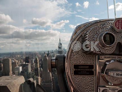 Манхэттен через видоискатель