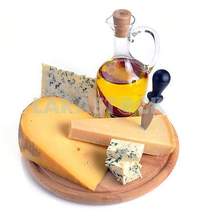 Коллекция сыров и оливкового масла