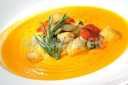 Суп из тыквы с овощами