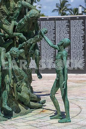 Мемориал жертвам Холокоста в Майами