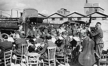 Немецкий военный оркестр. Вторая мировая война