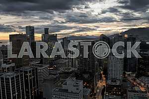 Ночной Ванкувер, Канада