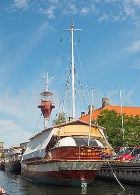 Яхты на канале Нюхавен