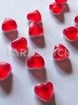 Конфеты в форме сердца
