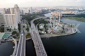 Мосты через залив Марина Бэй