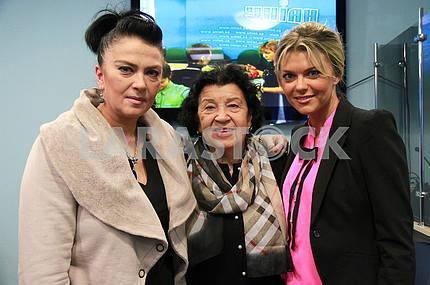 Ирина Дерюгина, Альбина Дерюгина и Ирина Блохина