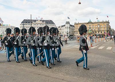 Королевская стража в Копенгагене